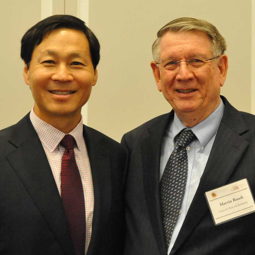 Dr. Marvin Roush and Dr. Kim