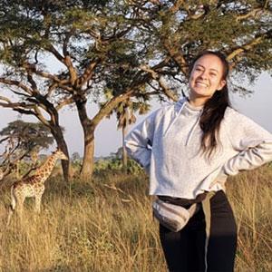 Nina Horne in Africa